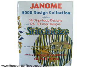 JANOME 4000 Broderies